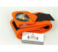 METAL Orange Wrist Wraps