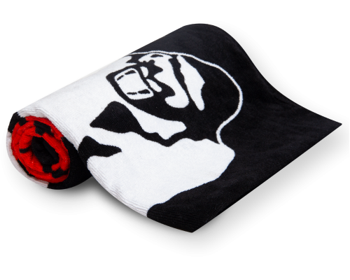 Полотенце Classic Gym Towel Black/Red