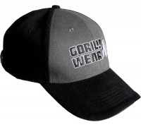 Бейсболка Gorilla Wear Classic Logo Cap Black/Gray