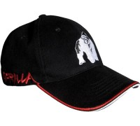 Бейсболка Gorilla Wear Core Cap Black/Red