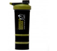 Шейкер Gorilla Wear 2 Go Black/Army Green