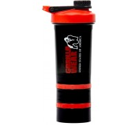 Шейкер Gorilla Wear 2 Go Black/Red