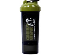 Шейкер Gorilla Wear Compact Black/Army Green