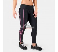 Лосины Carlin Compression Tight Black/Pink