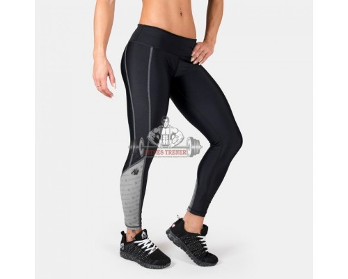 Лосины Carlin Compression Tight Black/Gray