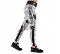 Лосины Pueblo Tights Black/White