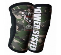 НАКОЛЕННИКИ POWER SYSTEM KNEE SLEEVES CAMO - 5 мм