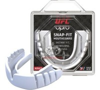 Капа OPRO Snap-Fit UFC Hologram White (art. 002257002)