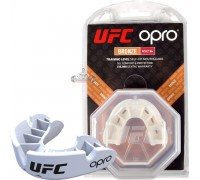 Капа OPRO Bronze UFC Hologram White (art. 002258002)