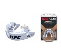 Капа OPRO Junior Bronze UFC Hologram White (art. 002264002)