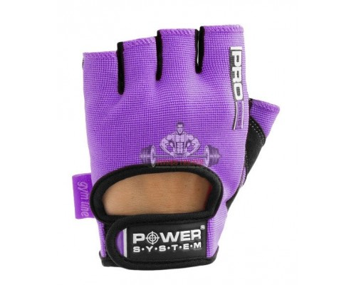 Перчатки для фитнеса Power System Pro Grip PS-2250 Purple