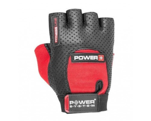 Перчатки для фитнеса Power System Power Plus PS-2500 Black/Red