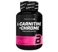 Жиросжигатель L-Carnitine + Chrome (60 капсул) BioTech USA