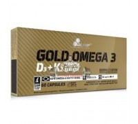 Витамин Olimp Gold Omega 3 D3+K2 sport edition