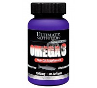 Витамины UltN Omega 3 - 90 softgels