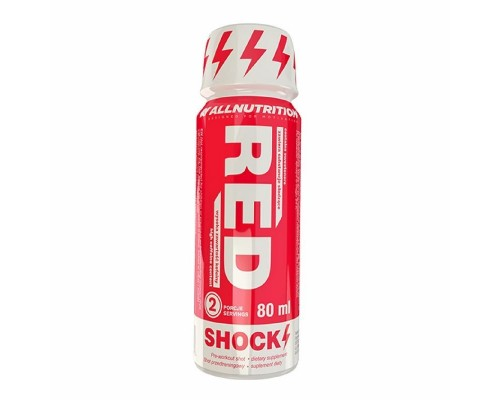 Предтрен AllNutrition Red Shok Shot 80 мл