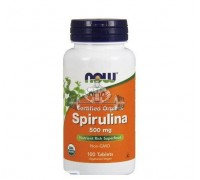 Спирулина NOW Spirulina 500 мг - 100 таб