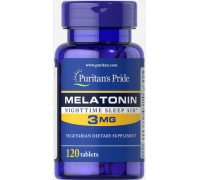 Витамины Puritans Pride Melatonin 3 mg 120 таб