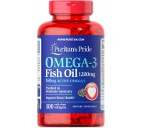 Витамины Puritan's Pride Omega-3 Fish Oil 1200 mg 100 caps