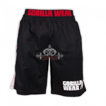 Шорты California Mesh Shorts Black/Red оригинальные от Gorilla Wear