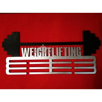 "Медальница ""Weightlifting"""