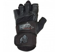 Перчатки Dallas Wrist Wrap Gloves - Black