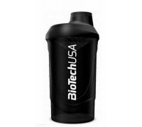 Шейкер BioTechUSA Wave Shaker 600 ml + отсек 150мл.