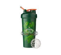 Спортивный шейкер Blender Bottle Classic Loop 820ml Special Edition Green-Coral (Art Palm) (Original)