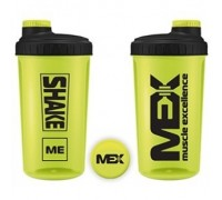 Шейкер MEX Nutrition - 700 ml Yellow