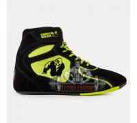"Ботинки ""CHICAGO"" High Tops Black / Neon Lime"