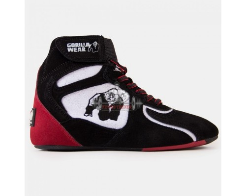 "Ботинки ""CHICAGO"" High Tops Black/White/Red"
